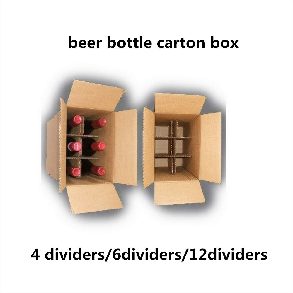 6 bottle cartons