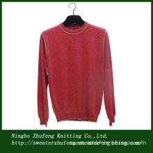Men's Cotton Crew Neck Pullover Sweater Nbzf0003