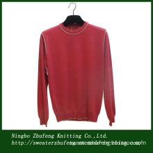 Men's Cotton Crew Neck Pullover Sweater Nbzf0003