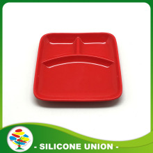 Food Grade Silicone Dinner Plate For Baby