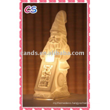 Fashion Christmas Decoration Porcelain Night Light