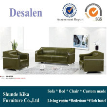 Modern China Leather Office Sofa (8538)