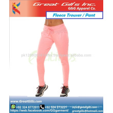 Women Sweat pant fleece trouser for gym and exercise fashion wear pant