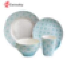 Conjunto de jantar de porcelana made in china