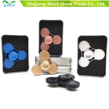 New Metal Alloy EDC Hand Fidget Spinner High Speed Focus Toy