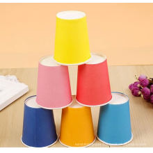 Single color disposable coffee paper cup
