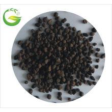 El fertilizante orgánico granulado Qfg con NPK se aplica en granjas