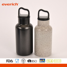 Cool Black Powder Coating Edelstahl Sport Wasserflasche