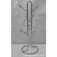 Customizable stainless steel coffee cup hanger