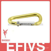 fashion mini aluminum carabiner