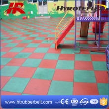 High Durable EPDM Square Rubber Floor Tiles