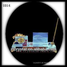 K9 Vergoldete Kristall Stifthalter