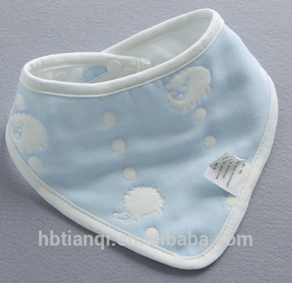 Cotton Baby Drool Cover Infant Triangle Bandana Bibs
