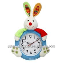 Horloge murale décoratif décoratif de lapin adorable