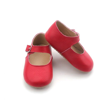 Bebé de cuero suave Formal Girls Mary Jane Shoes
