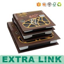 Neues Design-Gewohnheits-Muster-Buch formte Kunst-Papier-Pappdörren-Frucht-verpackte eingehängte Kästen