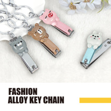 Animal polyresin fashion key chain