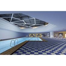 Perimeter pool wet area flooring