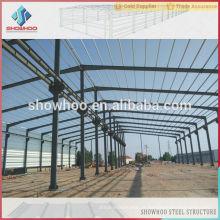 galpão industrial de aço leve projeta edifícios pré-fabricados baratos de casas de aço
