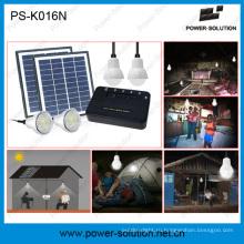 8 ватт Systeme Solaire 4 LED ампуле налить освещения Familliale