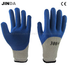 Latex Foam Coated Terry Yarn Liner Labor Protective Work Gloves (LH601)