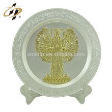 поставляем оптом изготовленные на заказ латунные памятные плиты от производителя Китай