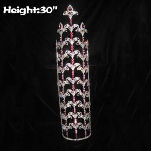 Coronas grandes grandes de encargo al por mayor del desfile de 30in