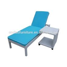 Outdoor furniture rattan sun loungers