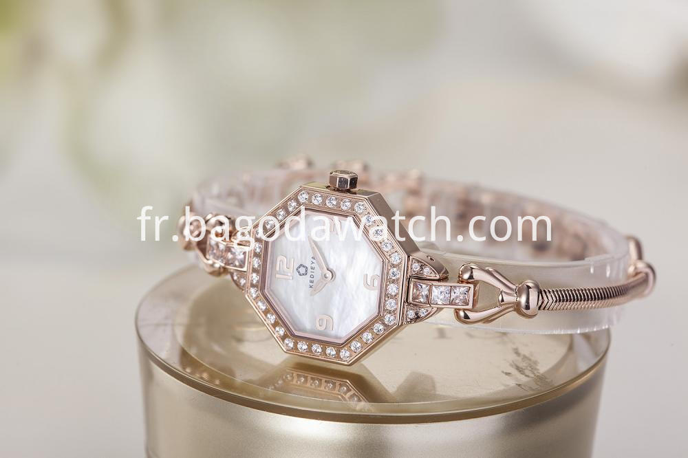 Ladies Setting Stone Watches