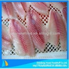 Frisch gefrorene Tilapia Fischfilet Preis zum Verkauf