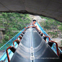 Horizontal Curved Belt Conveyor System for Mining Ore