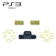 Boutons mous de caoutchouc de silicium pour la garniture en caoutchouc conductrice de contrôleur de ps3