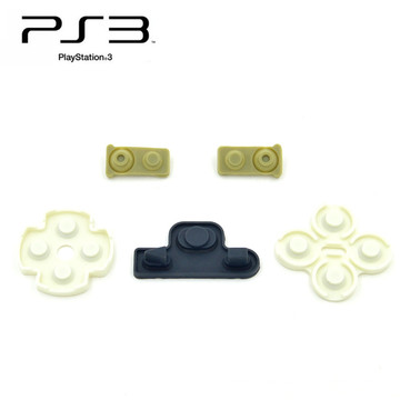 Soft Silicon rubber buttons for ps3 controller conductive rubber pad