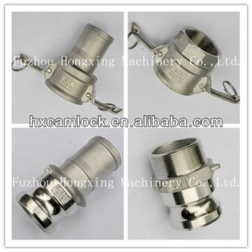 Hose quick coupling stainless steel made in China