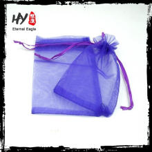 Hot selling printed logo organza bags with CE certificate