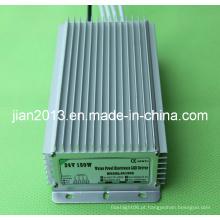 Fonte de alimentação impermeável da tira do diodo emissor de luz do poder superior IP67 de 24V 150W