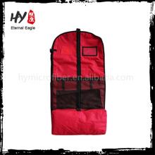 Sacs de vêtement de tissu scellable en gros, couverture de costume, sacs non-tissés de vêtement pas cher