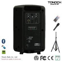 6,5 polegadas PRO Speaker PA portátil com bateria