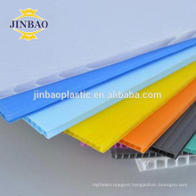 JINBAO 100% recyclable pack material 3mm 4mm 5 10mm paneling plastic