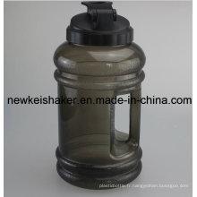 Bouteille de vidange à eau de 2,1L PETG avec poignée large bouche
