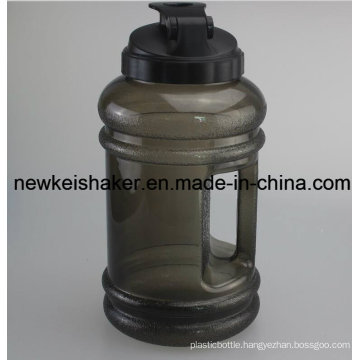2.2L PETG Water Joyshaker Bottle with Handle Wide Mouth