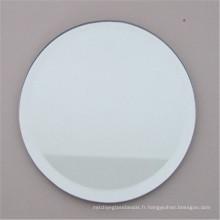 Miroirs muraux ronds, miroir décoratif contemporain de salle de bains