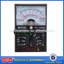 Analog Multimeter Analog Meter Multimeter, Voltage Meter Current Meter Portable Meter YX Tester YX-1000A
