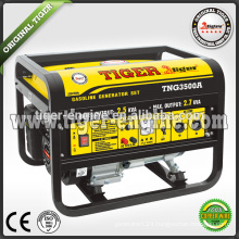2.5KW copper wire full output 2015 Newest Gasoline Generator 2500