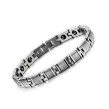 Pulsera de cadena barata de la bici del titanio, diseño de la pulsera de la cadena de la joyería a granel, pulsera femme fashion