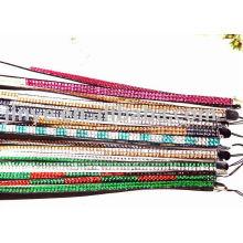 Shangdian Crafted Bling bling Colar de strass cordão de strass