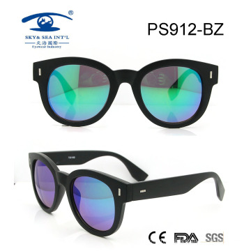 High Quality Simple Summer Plastic Sunglasses (PS912)