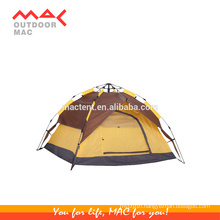 3-4 person auto-open pop-up single layer double layer outdoor waterproof family camping tent