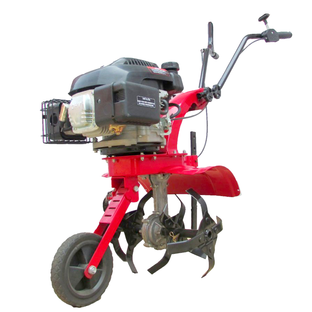 GAS powered tiller
