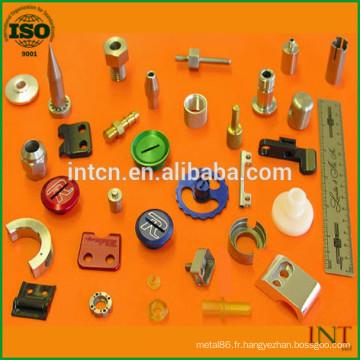 pièces métalliques de précision de traitement de surface